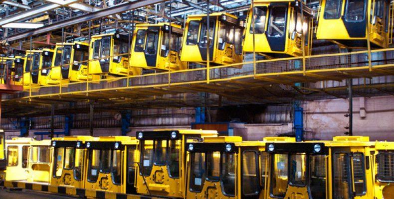 НаЧТЗ началось строительство нового конвейера для сборки бульдозеров итрубоукладчиков.