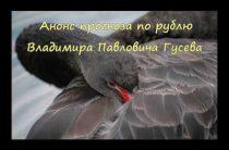 Анонс прогноза по рублю от В.П.Гусева (22.06.2017)