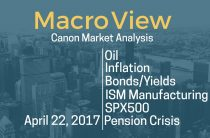 MacroView — 4/22/17 — Oil Inflation Bond Yields ISM SPX Pension Crisis