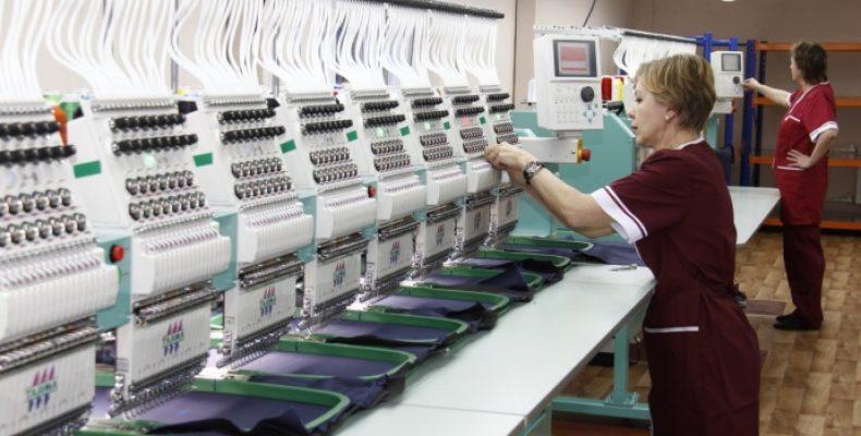 Компания попроизводству спецодежды открыла вПодмосковье цех вышивки логотипов