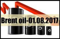 ПРОГНОЗ НЕФТИ / BRENT OIL — 01.08.2017