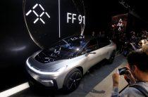 Фото: Первый серийный автомобиль от производителя электрокаров Faraday Future
