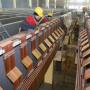 Комбинат «Уралэлектромедь» вСвердловской области строит вторую очередь нового цеха электролиза
