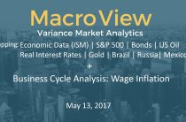 05/13/17 MacroView Business Cycle Wage Inflation & Recap ISM Oil Gold Bonds SPX Brazil Russia Mexico
