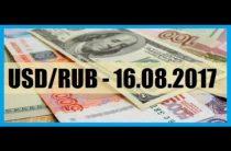 ПРОГНОЗ РУБЛЯ / USDRUB — 16.08.2017