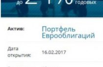 Портфель еврооблигаций от компании «БКС»