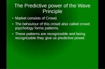 Preview to the Elliott Wave Course — History in Brief