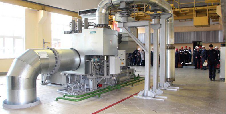 Спуском нового турбоагрегата ШААЗ удваивает выработку собственной энергии