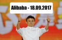 ПРОГНОЗ АКЦИЙ Alibaba — 18.09.2017.