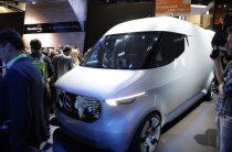 Merсedes-Benz представила микроавтобус-склад для доставки мелких товаров с помощью дронов