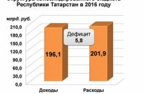 Дивиденды 2017. Бюджет Татарстана