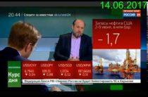 Григорий Бегларян — Рубль: падение нефти и новые санкции (14.06.2017)