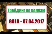 ПРОГНОЗ ЗОЛОТА. 07.04.2017