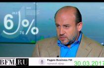 Гусев и Бегларян — Рубль-доллар 55 и отскок на 4 рубля (30.03.2017)