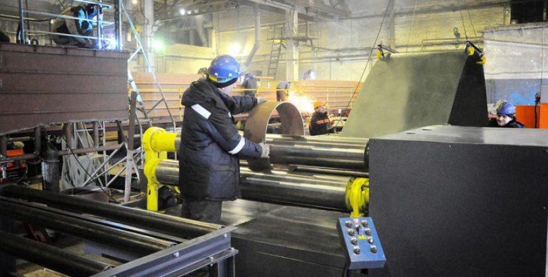 Насудостроительном заводе компании «Кампо» введено встрой новое оборудование