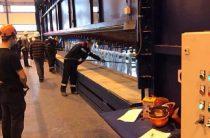 Наомском электромеханическом заводе запущен цех горячего цинкования