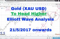 Gold Technical Analysis and Forecast using Elliott Wave (21/5/2017 onwards) + Online Classes